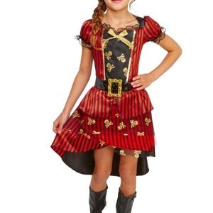 Other - hide and eek girls pirate costume L